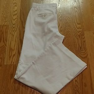 Express Cream Editor Pants
